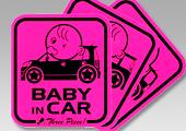 スリーピースオリジナル BABY in CAR 車種別ステッカー